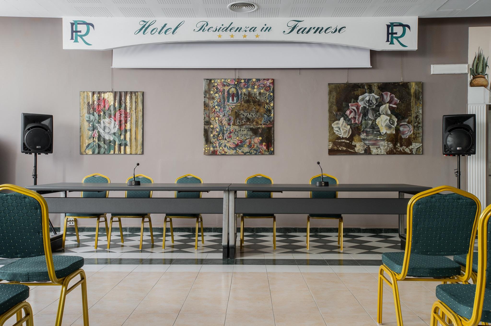 Sala conferenze residenza in farnese hotel roma centro for Hotel roma centro